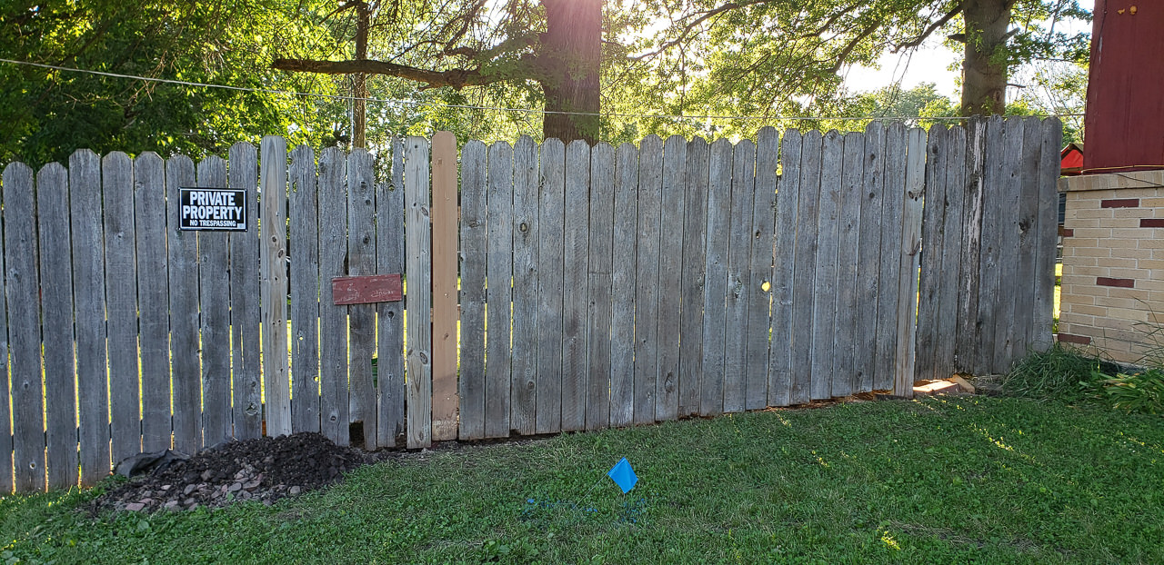 Putting the fence back up